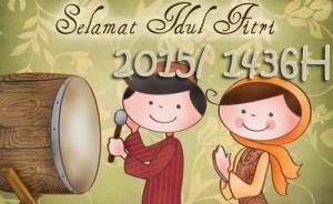 Ucapan Lebaran Idul Fitri 2015 1436h